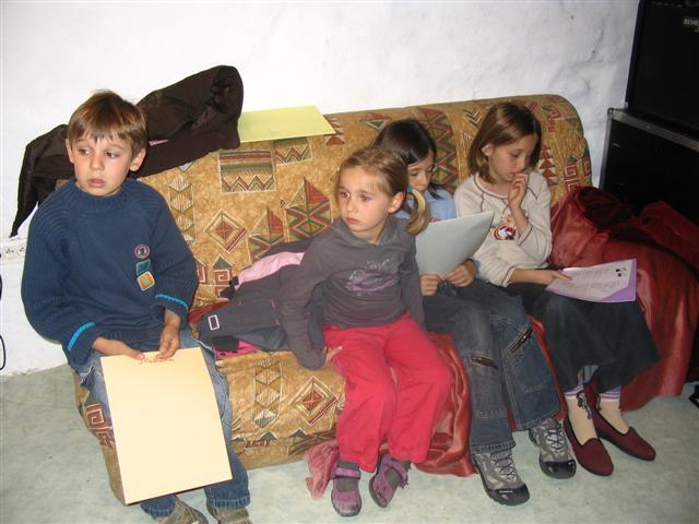 Victor, Alice, Gaëlle et Sarah