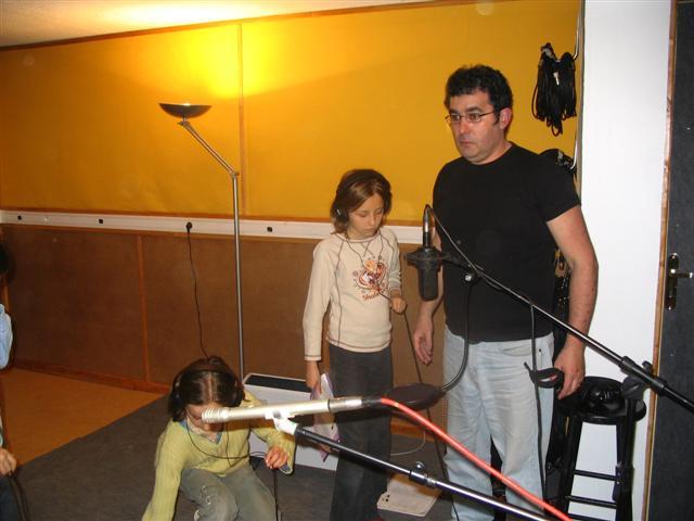 (Eloïse), Sarah et Patrice