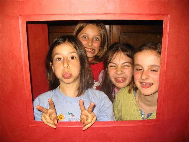 Gaëlle, Sarah, Gwénaëlle et Eloïse