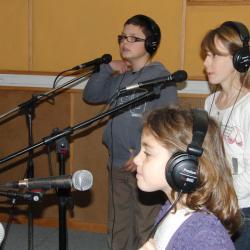 Léane, Charlotte et Guillaume