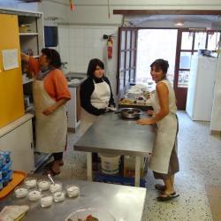 Les cuisinières : Cathy, Marine et Christelle
