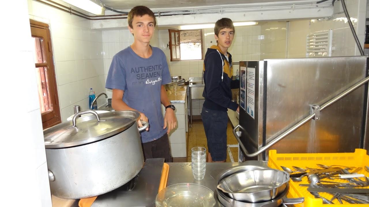 Les plongeurs : Rémy et Jonathan