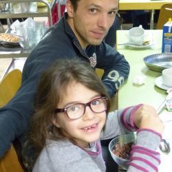 Maëlys et son papa :-)