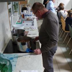 Jean-Yve Peter (Pasteur de l'ERE de Mulhouse) Merci pour le repas !